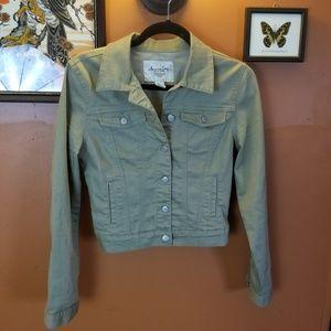 American Rag Cropped Jean Jacket
